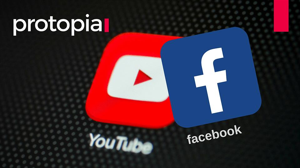 protopia.sk - webstránky pre malé a stredné firmy  - Facebook a Youtube