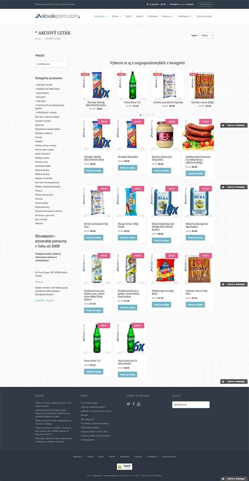 Protopia.sk | Porfólio | Slovakpoint | Screenshot