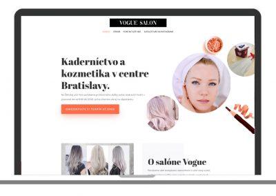 Vogue salon Bratislava – kaderníctvo a kozmetika v centre Bratislavy